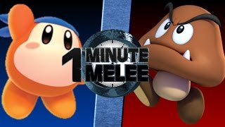 Download One Minute Melee S4 EP8 - Waddle Dee vs Goomba Video