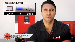 Download Q&A: How do I work out what size inverter I need? Video