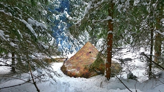 Download Solo Winter Bushcraft Camp - 4 Days Off the Grid [Full Documentary] Video