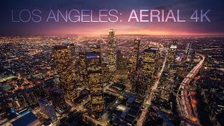Download Cityscape Los Angeles Aerial 4K Video