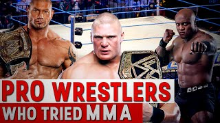 Download Pro Wrestlers Who Tried MMA Video