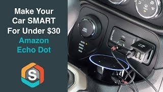Download Make your car Smart for under $30 with the Echo Dot - Echo Auto Video