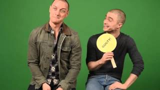 Download James McAvoy and Daniel Radcliffe play ″Never Have I Ever″ Video