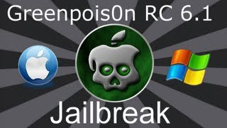 Download GreenPoison R C6.1 iOS 4.2.1 Untethered Jailbreak iPhone 4, 3GS, iPod Touch, iPad & Apple Tv2 MAC Video