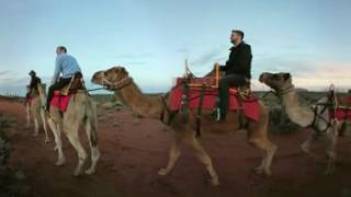 Download Experience a 360 Uluru Camel Tour Video