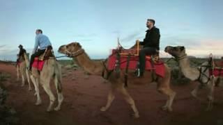 Download Experience a 360 Uluru Camel Tour Video