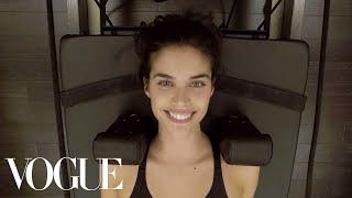 Download Model Sara Sampaio's Pre-Victoria's Secret Show Workout | Vogue Video