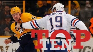 Download Top Ten NHL Hockey Fights of February 2017 Video