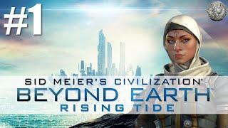 Download Civilization Beyond Earth Rising Tide Let's Play - Al Falah - Soyuz - #1 ″Primordial Soup″ Video