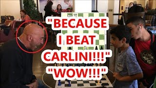 Download 9 Year Old Chess Prodigy Vs. Trash Talker! Boston Mike vs Scrappy Sepehr Video