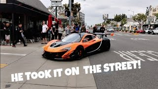 Download HE DROVE A RACE CAR ON THE STREET! Video