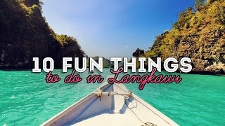 Download 10 Fun Things and Activities to do in Langkawi, Malaysia #GoPro Video