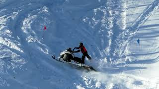 Download SNOWMOBILE HILL-CLIMB AT WHEALKATE BLUFF (RED COURSE) - SOUTH RANGE, MICHIGAN | Just Snowmobiles Video