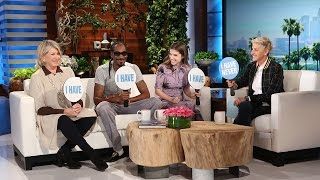 Download Never Have I Ever with Martha Stewart, Snoop Dogg and Anna Kendrick Video