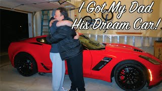 Download I BOUGHT MY DAD HIS DREAM CAR! - CORVETTE Z06 (2016) Super Car - Reaction Video - Social Experiment Video