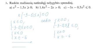 Download Sprendžiame kvadratines nelygybes Video
