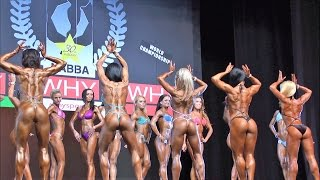 Download NABBA Worlds 2013, Toned Figure - Comparisons Video
