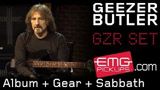 Download Geezer Butler talks to EMGtv about new album, gear and Sabbath Video