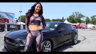 Download 2018 AMERICAN MUSCLE Mustang Car Show Video