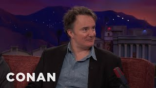 Download Dylan Moran On The Difference Between U.S. And U.K. Audiences - CONAN on TBS Video