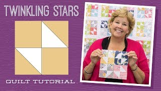 Download Make a Twinkling Stars Quilt with Jenny! Video