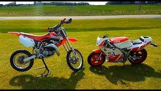 Download Honda Cr 85 vs Yamaha Ysr 50!!! Video