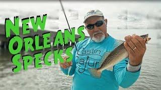Download Castin Cajun Pontchartrain Trout Fishing in New Orleans Video