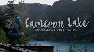 Download ABANDONED TRAIN TRESTLES IN THE RAIN (Parksville, BC) Video