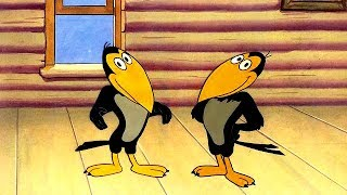 Download THE TALKING MAGPIES [Heckle and Jeckle] - Full Cartoon Episode - HD Video