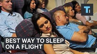 Download Best way to sleep on a flight Video