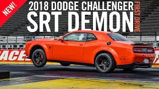 Download 2018 Dodge Challenger SRT Demon First Drive Test Drive Review Video