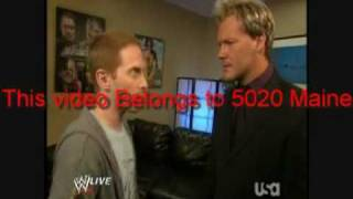 Download Seth Green Meets Chris Jericho Backstage Video