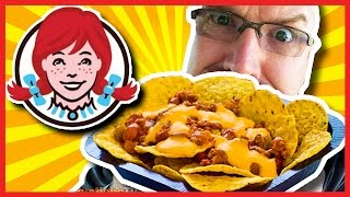 Download Wendy's Cheesy Cheddarburger and Chili Cheese Nachos Video