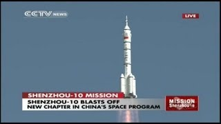 Download Launch of Manned Chinese Shenzhou-10 Spacecraft Video