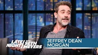 Download Jeffrey Dean Morgan Talks Joining The Walking Dead - Late Night with Seth Meyers Video