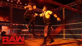 Download Kane Returns; Roman Reigns vs. Braun Strowman - Steel Cage Match: Raw, Oct. 16, 2017 Video