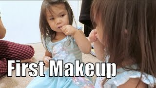 Download Her Very First Makeup Palette! - July 28, 2015 - ItsJudysLife Vlogs Video