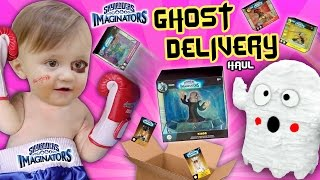 Download SHAWN BEATS UP GHOSTS!! 👻 SKYLANDERS IMAGINATORS Wave 1 & 2 SPECIAL DELIVERY (Unboxing Surprise) Video