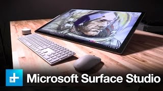 Download Microsoft Surface Studio - Hands On Review Video