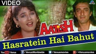 Download Hasraten Hai Bahut Magar (Aatish) Video