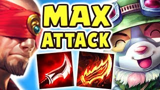 Download THIS IS WHY EVERYONE SHOULD PLAY TEEMO | FULL AD LEE SIN JUNGLE | MAX ATTACK TEEMO JUNGLE Nightblue3 Video