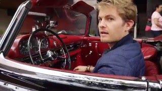 Download Nico Rosberg drives Mercedes-Benz 300SL - Footage Video