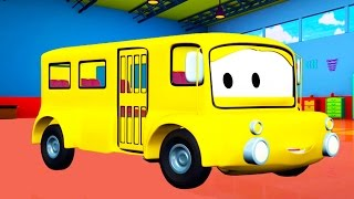 Download Lily the Bus 🚌 and her friends in Car City like Tom the Tow Truck Cars and Trucks Cartoons for Kids Video
