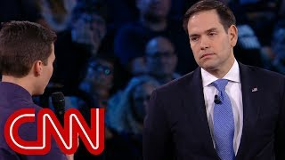 Download Survivor to Rubio: Will you reject NRA money? Video
