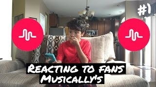 Download Reacting To Fans Musically's #1 Video