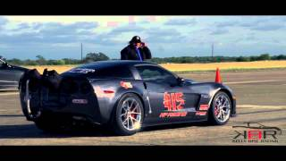 Download Kelly Bise Racing Z06 - New Texas Mile Record!! 240.9 mph!! Video