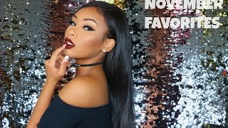 Download NOVEMBER FAVORITES 2016 | AALIYAHJAY Video