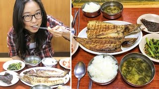 Download Grilled Fish Street in Dongdaemun Video