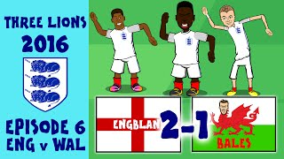 Download 442OONS FRANCE EURO 2016 HIGHLIGHTS: England 2-1 Wales: Bale, Vardy and Sturridge goals! Video
