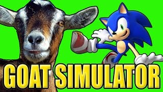 Download Goat Simulator SONIC THE HEDGEHOG Mod! Video